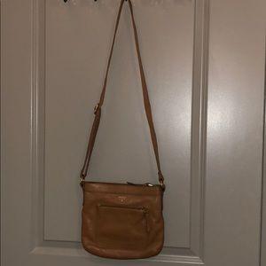 Light brown Fossil purse